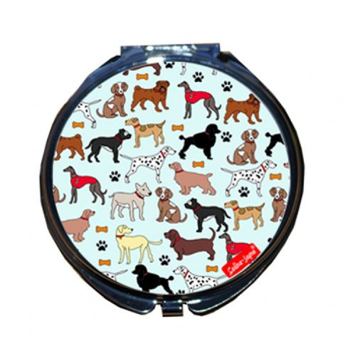 Selina-Jayne Dogs Limited Edition Compact Mirror